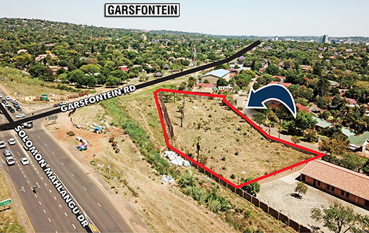 Image 3 for Rare Corner Development Site - Garsfontein Road
