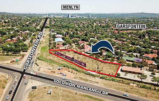 Image 1 for Rare Corner Development Site - Garsfontein Road