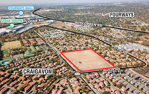 Image of Hot Fourways Land
