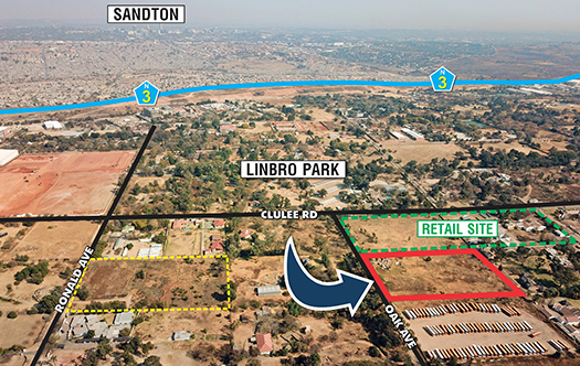Image of Retail Development Site - Linbro Park