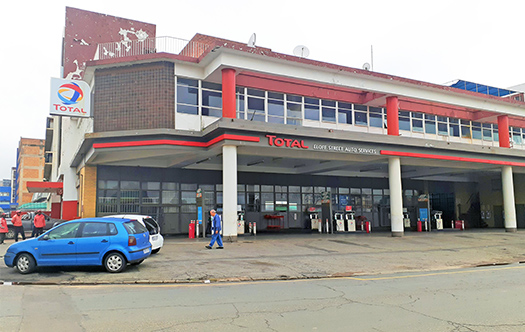 Image of Total Filling Station - New Centre