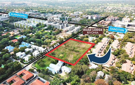 Image of Rivonia Dev Land - Zoned 60 Units