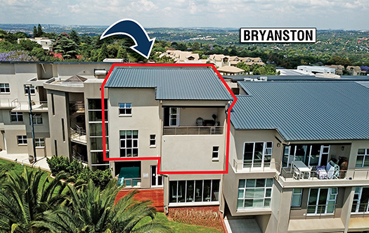 Image 2 for Luxurious Top Floor Apartment - Bryanston