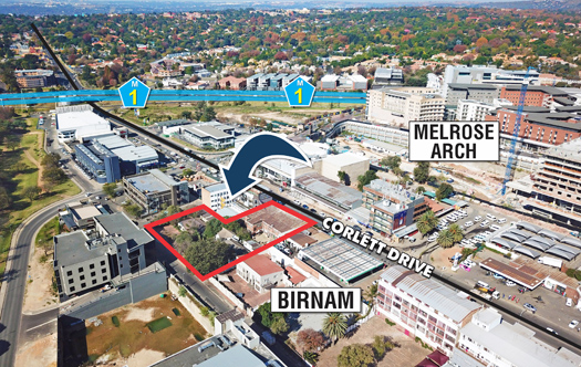 Image 1 for Hot Development Site - Melrose Arch