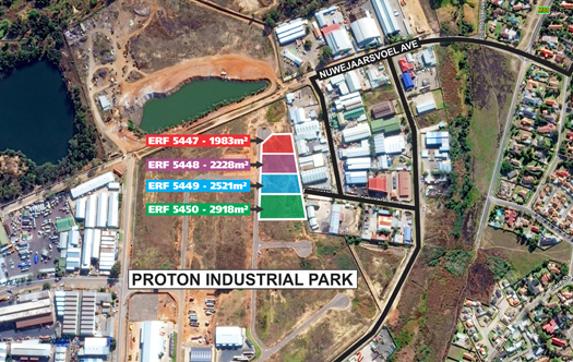 Image 1 for New Industrial Park - 4 Stands