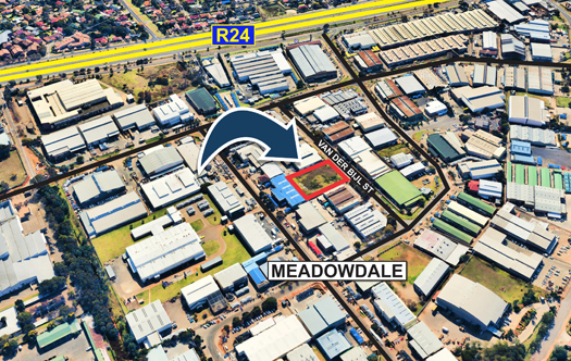 Image of Vacant Industrial Stand - Meadowdale
