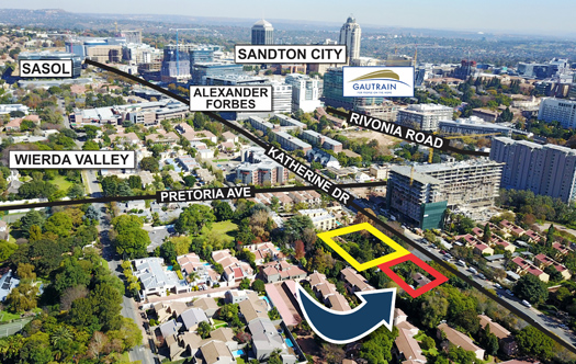 Image 1 for Prime Development Land - Sandton