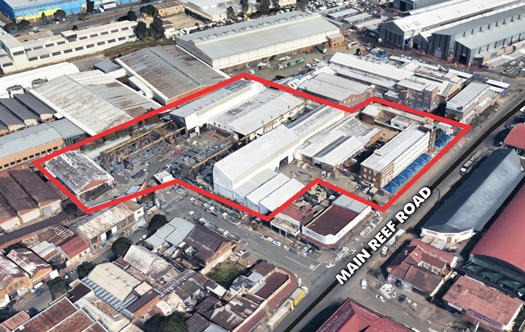 Image 1 for ± 9000m² Industrial Facility - Main Reef Rd