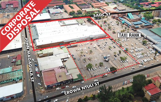 Image of Corporate Disposal - Shoprite Middelburg