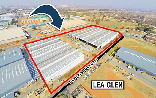 Image of Lea Glen Industrial Facility ± 15 000m²