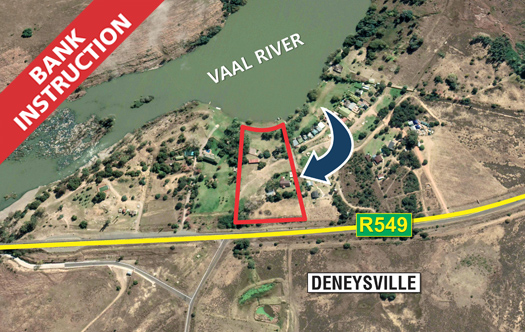 Image of Bank instruction - 3.9 ha on Vaal River