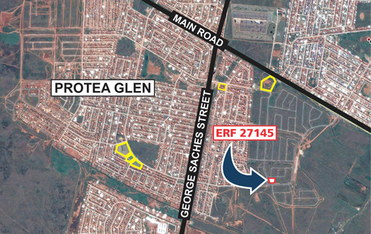 Image 1 for 6 Prime Development Sites - Protea Glen