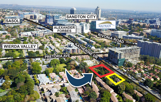 Image of Prime Development Land in Sandton