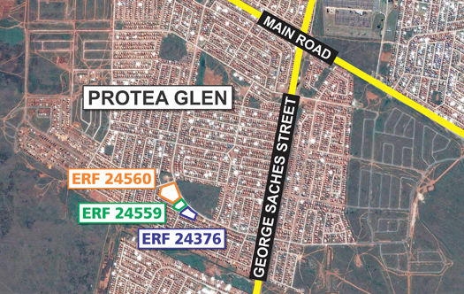 Image of 3 Prime Development Sites - Protea Glen