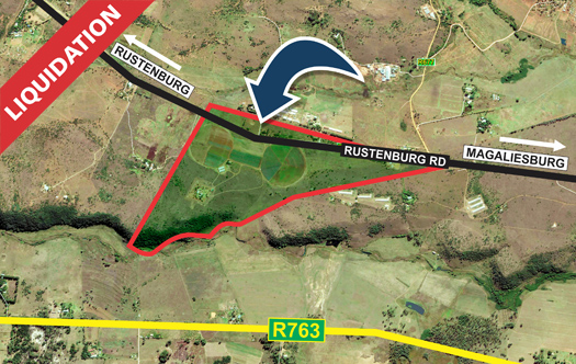 Image 1 for LIQUIDATION - 99 ha Farm in Magaliesburg